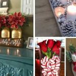 Easy DIY Christmas Table Decorations Ideas