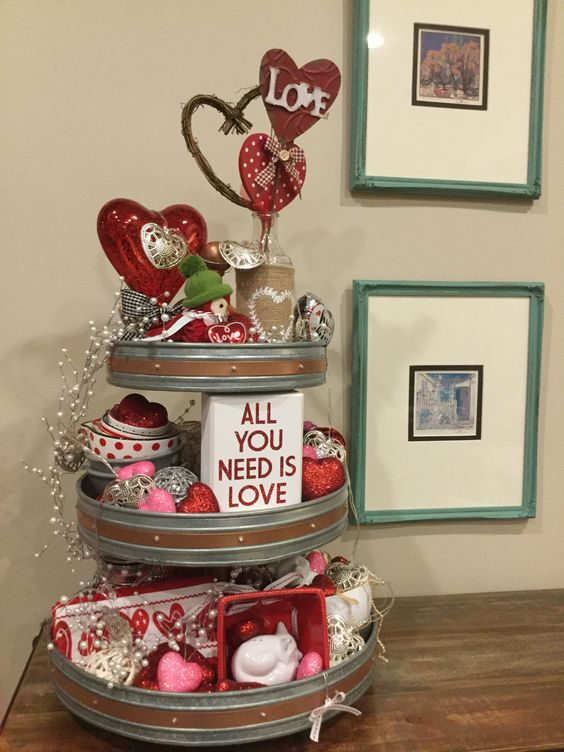 All You Need is Love Centerpiece