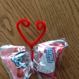 Butterfly Valentine Snack