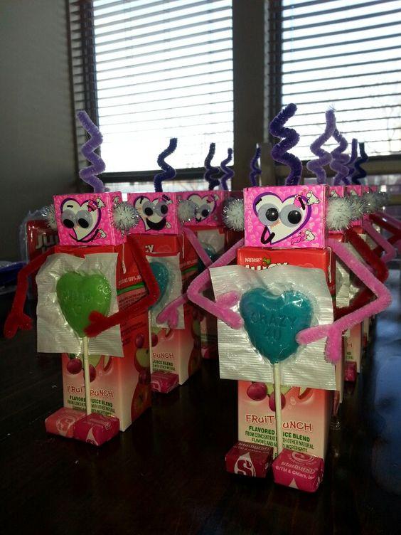 Robot Juice Boxes