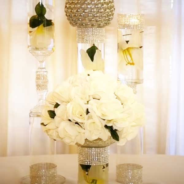 Dollar Store Wedding Centerpieces