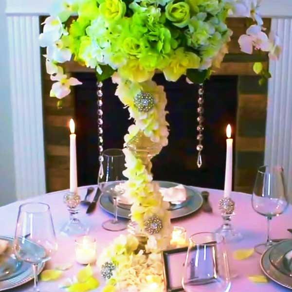 Dollar Store Wedding Centerpiece Ideas