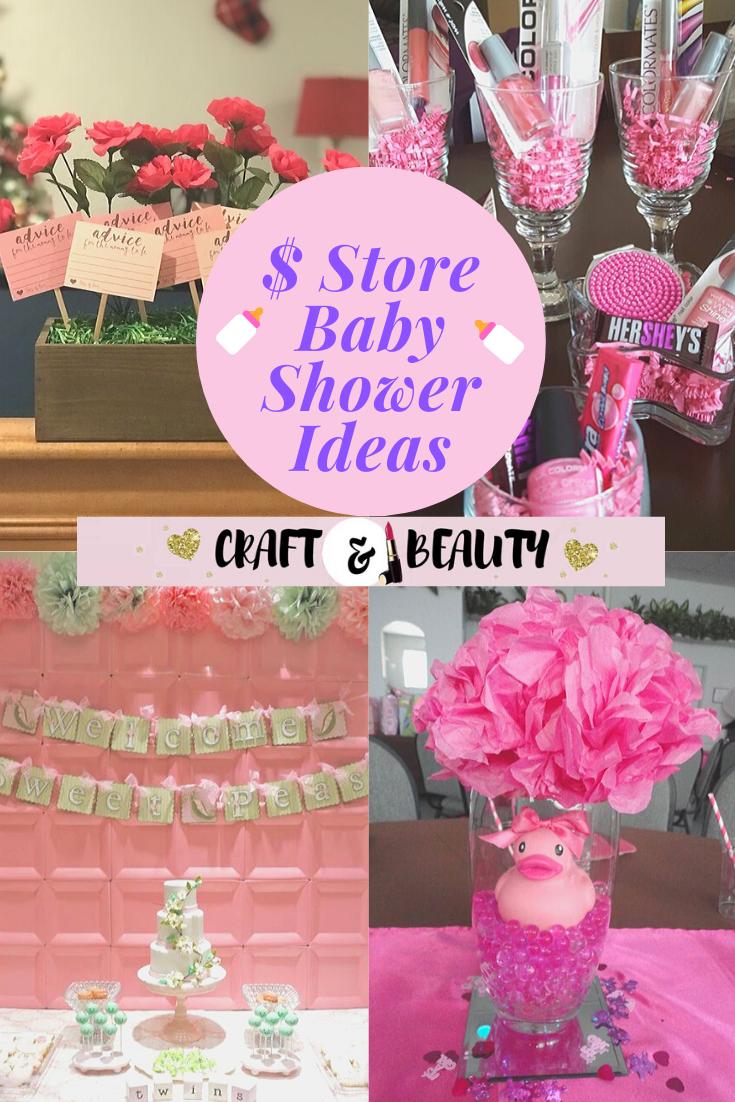 Dollar Store Baby Shower Ideas