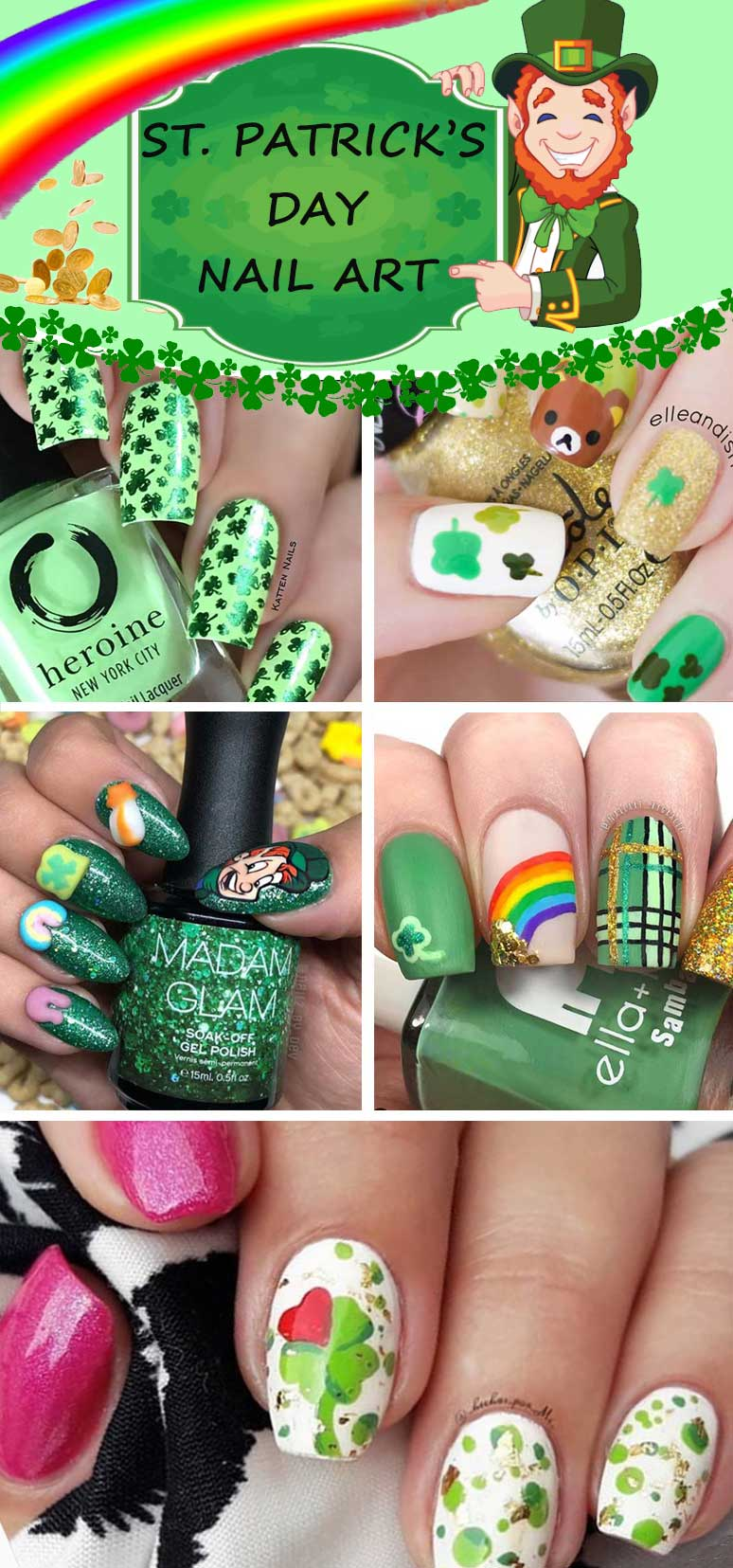 Irish Nail Art Designs - Craft and Beauty