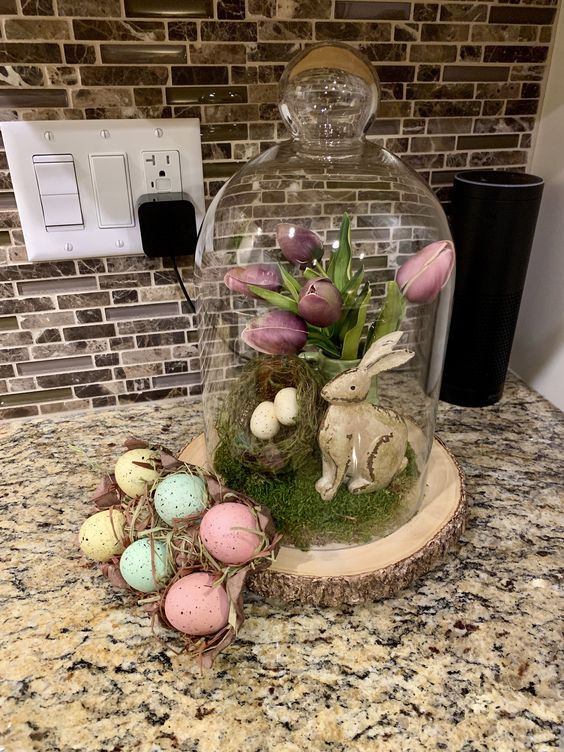 Easter Cloche Ideas