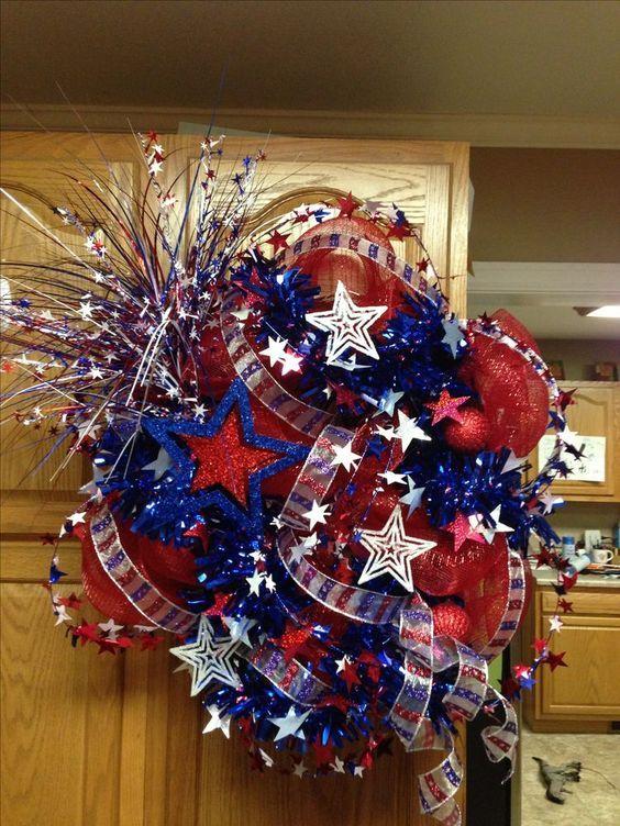 July 4th Wreath Ideas
