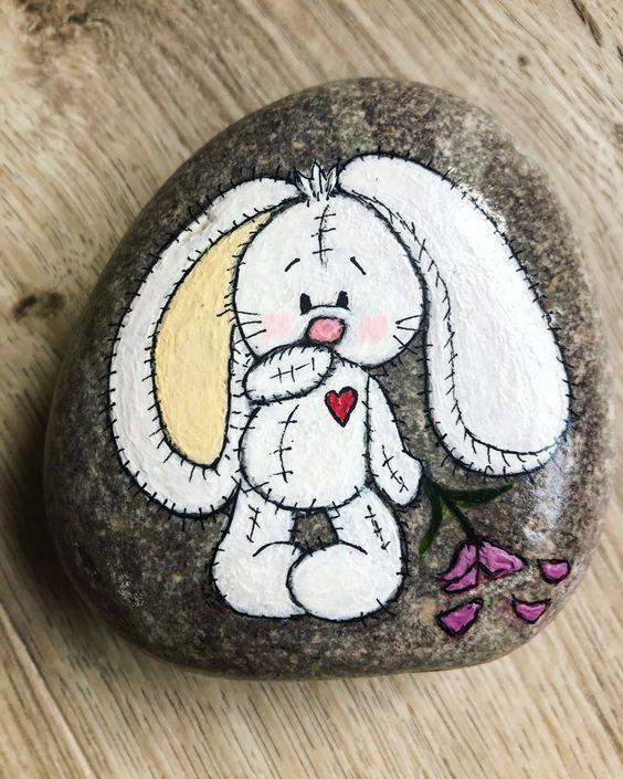 Easter Painted Rocks