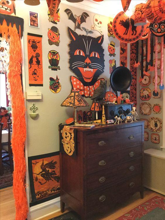 Dollar Store Halloween Decorations