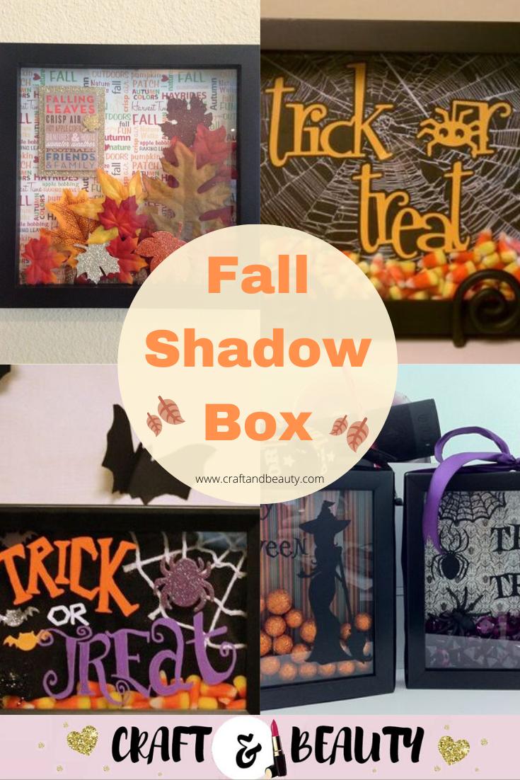 Fall Shadow Box Ideas