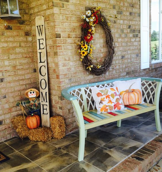 Fall Porch Welcome Signs
